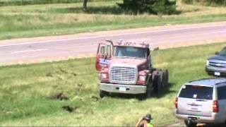 Dump Truck I80 Accident
