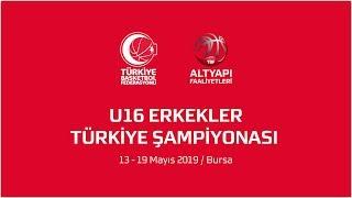 Pınar Karşıyaka - Darüşşafaka U16 Erkekler Türkiye Şampiyonası Yarı Final