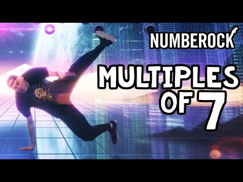 7 Times Table Song | Skip Counting by 7 Song by NUMBEROCK