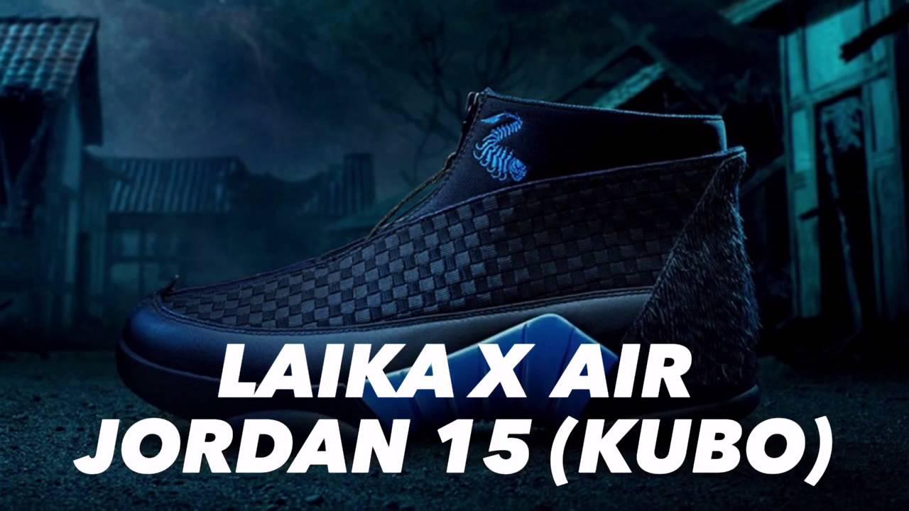 ddef69483739ad ... promo code laika x air jordan 15 kubo sneakers star 8346b 7e47c