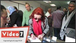 نبيلة عبيد تحرر توكيلا للسيسى لدعم ترشحه للانتخابات الرئاسية