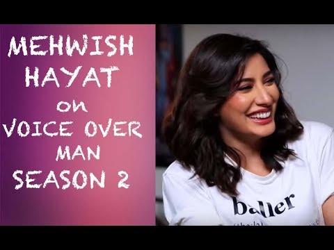 Mehwish Hayat on Voice Over Man Season 2 PREMIERE