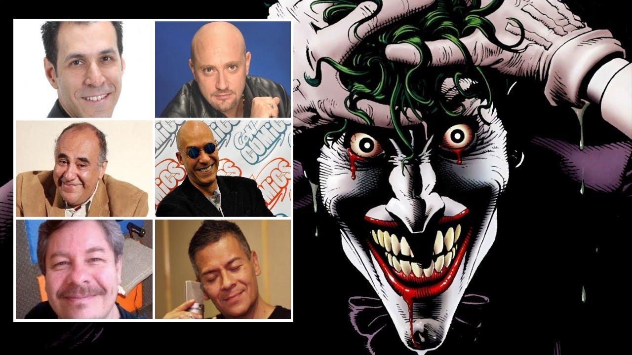 Comparando Doblaje The Joker Español Latino