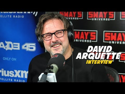David Arquette Talks Hollywood 'Creeps' + Raps on Sway In The Morning