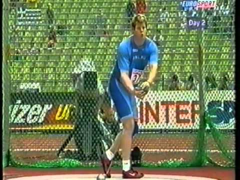 Hammer Throw European Champs 2002 Final Part 1 of 3