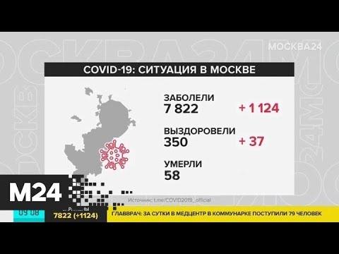 В Москве коронавирусом заболели почти 8 тысяч человек - Москва 24