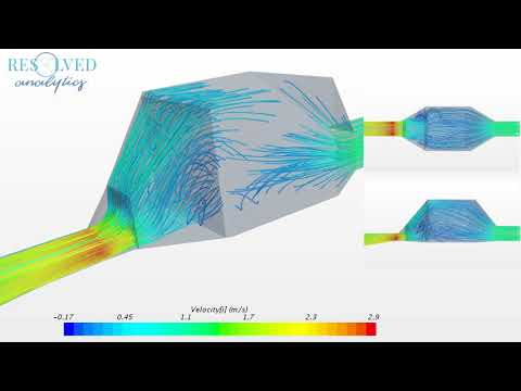 CFD Simulation of Diffuser with Perforated Plates