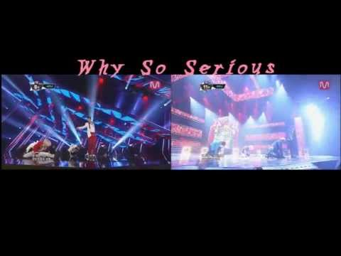 SHINee - Why So Serious Live (with Jonghyun And Without Jonghyun)
