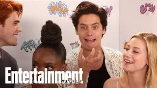 'Riverdale' Cast Rate How Troublesome New Season 2 Characters Are | SDCC 2017 | Entertainment Weekly