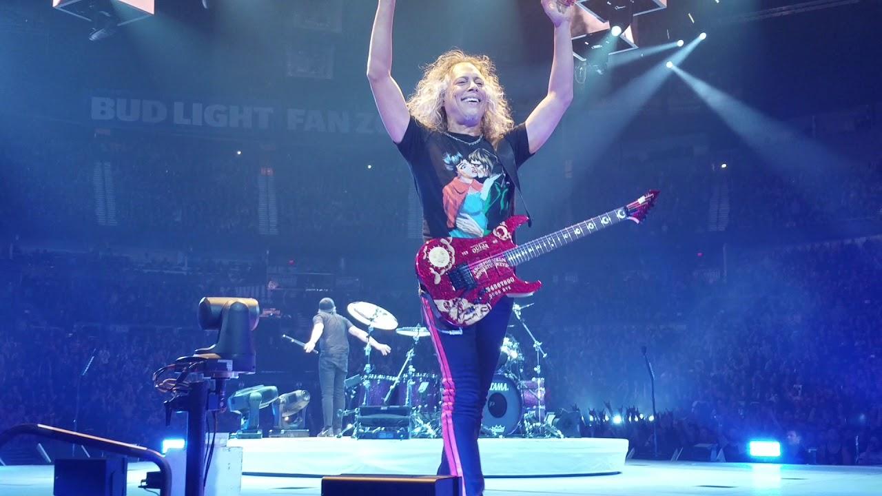 Metallica - Seek And Destroy - Nashville, TN, Bridgestone Arena 01/24/2019