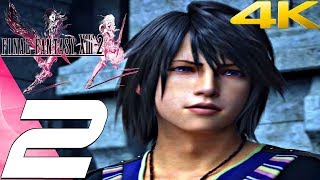 Final Fantasy XIII-2 - Gameplay Walkthrough Part 2 - Bresha Ruins [4K 60FPS]