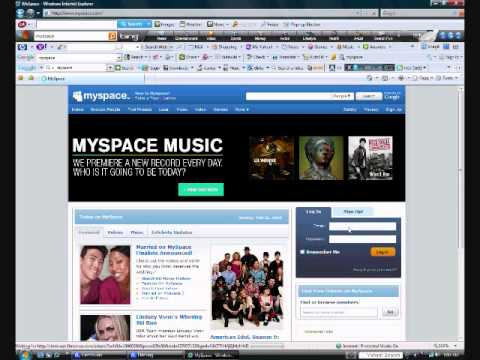How to put pics on your Myspace using PhotoBucket