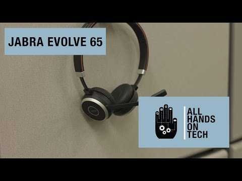 The Ideal Headset For Business Jabra Evolve 65 Review Youtube