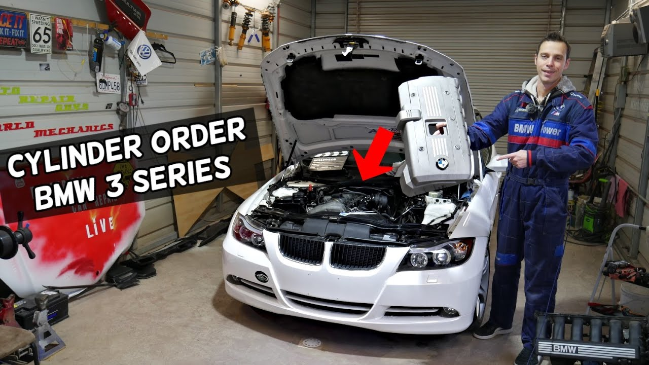 BMW CYLINDER NUMBERS WHICH CYLINDER IS NUMBER 1, 2, 3, 4, 5, 6 BMW E90 E91  E92 E93 - YouTubeYouTube