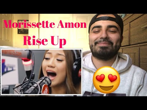 Reaction to Morissette Amon Rise Up