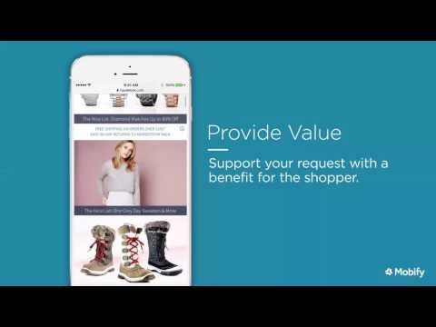 Mobile Commerce UX Best Practices Webinar, with Mobify Design Manager Jaybe Allanson