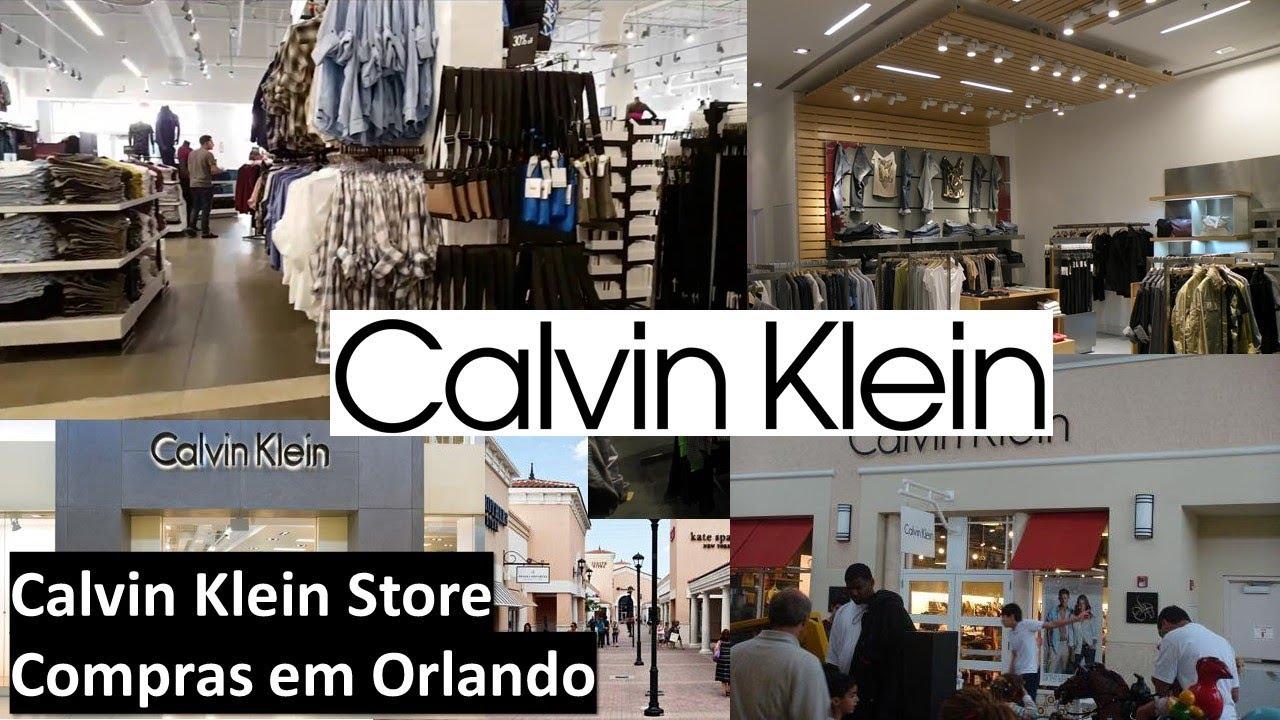 a85dc598ae7f2 Calvin Klein Store (Compras em Orlando) - YouTube