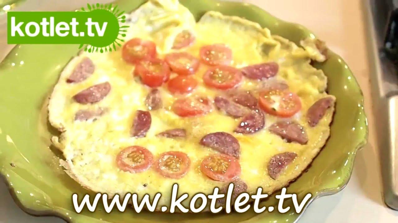 Omlet Sniadaniowy Z Kielbasa Kotlet Tv