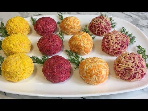 Праздничные Шарики с Селедкой Великолепная Закуска Быстро и Очень Вкусно!!! / Balls With Herring