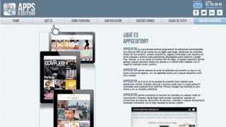 AppsEditor - Aplicaciones móviles nativas para empresas