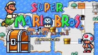 Super Mario Bros. - The Lost Levels Enhanced [#3/#4] • Super Mario World ROM Hack (Playthrough)