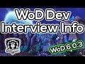 WoD News: Dev Interview Info Roundup - Raids, Garrisons, Classes, Stats & More!