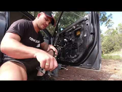 DIY Mazda 3 Door Lock Actuator Repair Replacement for BK 2003-2010