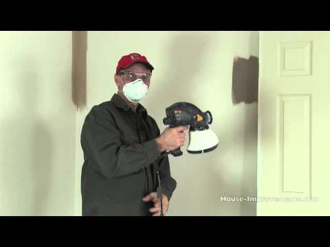 How To Use an Electric Airless Paint Sprayer