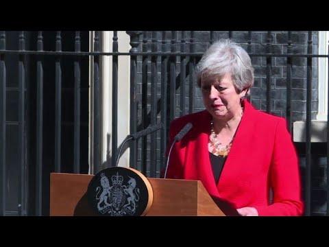 AFP: Brexit: réactions du monde politique à la démission de May