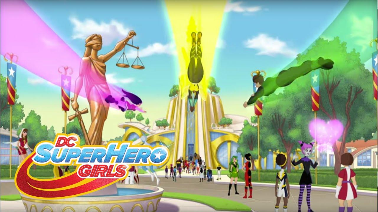 Willkommen An Der Super Hero High Folge 101 Dc Super Hero Girls