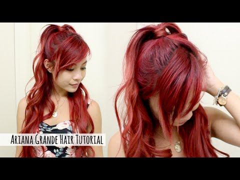 Ariana Grande Hairstyle Tutorial L Ariana Grande Half Up Half Down L Quick Amp Easy Hair For