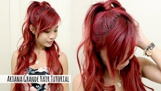 Ariana Grande Hairstyle Tutorial l Ariana Grande Half up Half Down l Quick & Easy Hair for School