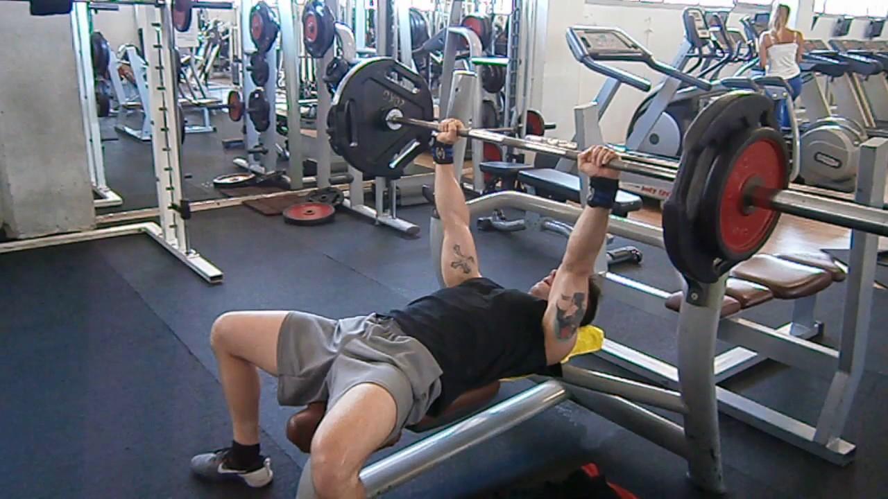 Hammer Grip Bench Press Part - 41: 1 1/4 Close Grip Bench Press