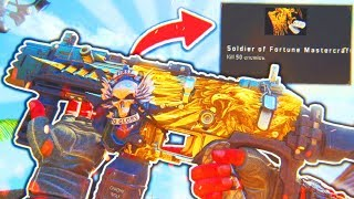 I Unlocked the SECRET Weapon in Black Ops 4! (Mastercraft Weapon) - BO4 Soldier of Fortune