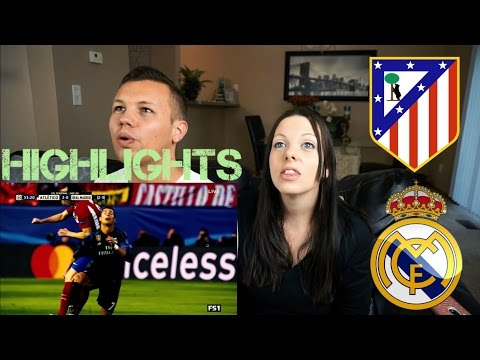 Atletico Madrid Vs Real Madrid | Champions League Highlights | REACTION
