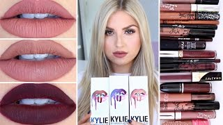 Kylie Lip Kits ♡ Dupes & First Impression Review!