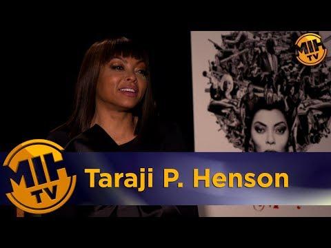 Taraji P. Henson Proud Mary Interview