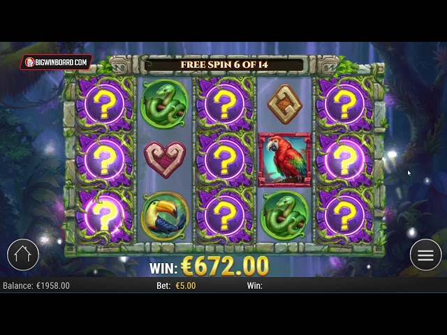 RAINFOREST MAGIC (PLAY'N GO) ONLINE SLOT