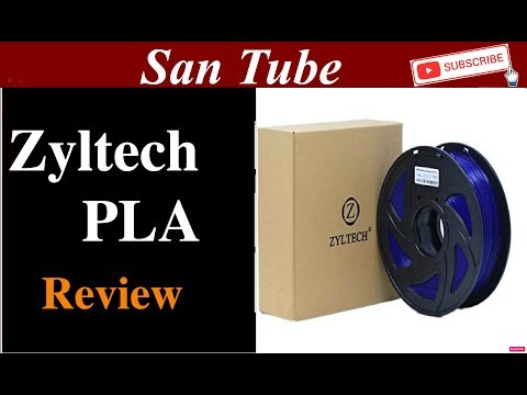 Zyltech PLA Review for 3D Printing