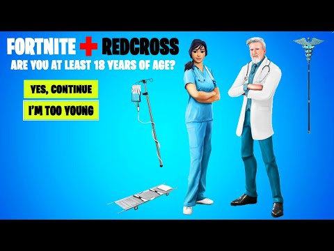 THE *FIRST* FORTNITE EVENT OF 2020! (Fortnite X Redcross Event)