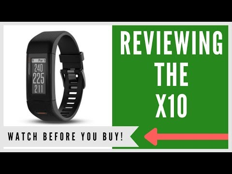 ✅ GARMIN APPROACH X10 GPS GOLF WATCH: AN HONEST REVIEW