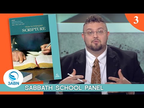 Jesus and the Apostles' View of the Bible - Lesson 3: 3ABN Sabbath School Panel - Q2 2020