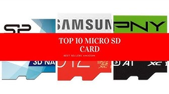 ✔️ TOP 10 MICRO SD CARD 🛒 Amazon 2020