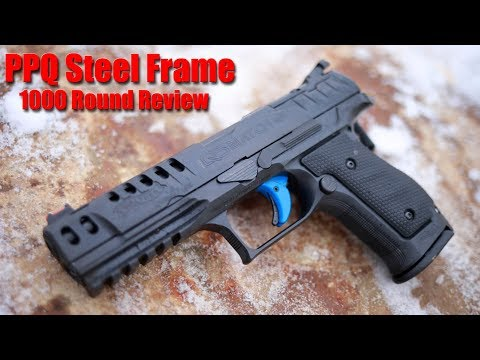 Walther PPQ Q5 Steel Frame Match 1000 Round Review