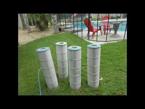 Pool filter cleaning DIY /Vinegar & Dawn