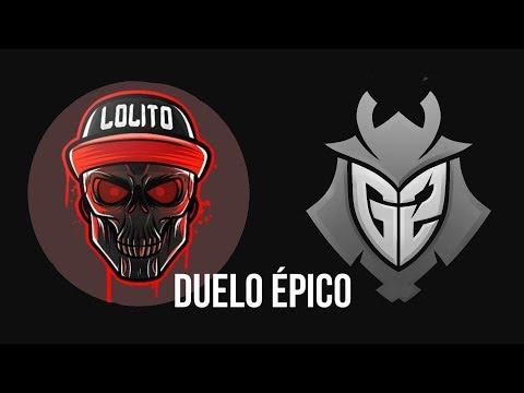 LOLiTO FDEZ VS Ocelote  Duelo completo YTBattleRoyale Fortnite