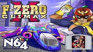 FZero X Climax - The N64 Beta Project