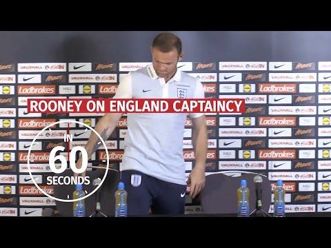 In 60 Seconds - Wayne Rooney On England Career