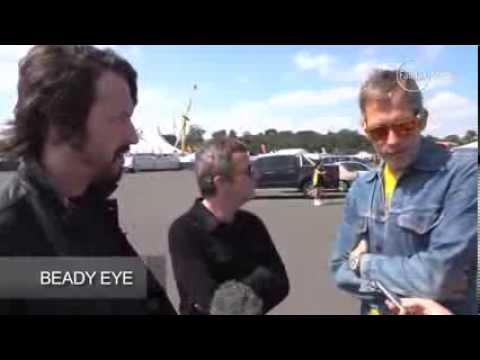 Beady Eye in Australia interview Gem, Andy and Chris 24.01.2014
