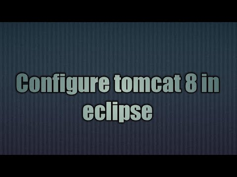 how to add tomcat to eclipse